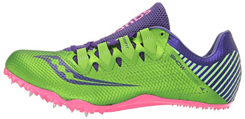 Saucony Showdown 4 Women 6.5 Slime | Purple by Saucony (Image #5)