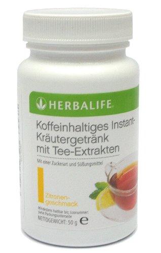 HERBALIFE suplemento herbal instantaneo a base de hierbas con extractos de te - sabor limon -