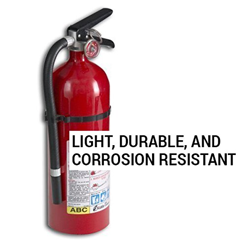 Kidde 21005779 Pro 210 Fire Extinguisher, ABC, 160CI, 4 lbs, 1 Pack