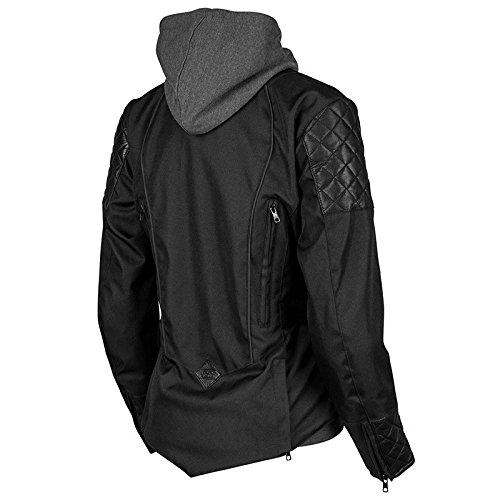 Speed & Strength Women's Double Take Textile Jacket (SMALL) (BLACK)