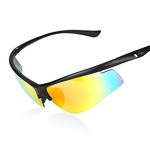 HODGSON Sports Polarized Sunglasses for Men or Women, Extremely Light UV400 Protection Sports Glasses for Riding, Driving, Fishing, Running and Other Outdoor Activities - - Prescription Discount Sunglasses Polarized