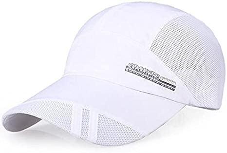 Adult Mesh Hat Quick-Dry Collapsible Sun Hat Outdoor Sunscreen Baseball Cap