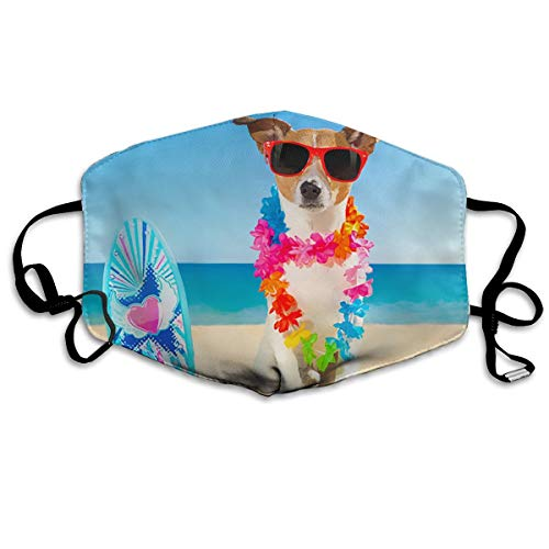 Jack Russell Cane Anti Dust Face Mask,Reusable Warm Windproof Mouth Mask