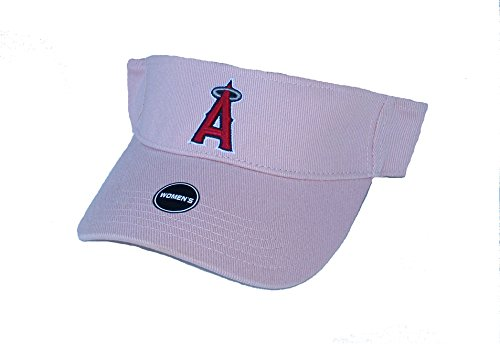 Los Angeles Angels of Anaheim Women's Visor Velcro OSFA Pink Hat Cap – Sports Center Store