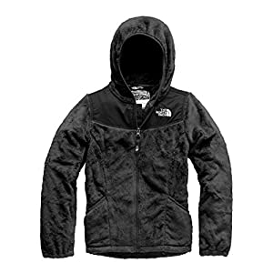 The North Face Girl's OSO Hoodie - TNF Black - L