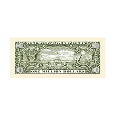 American Art Classics Pack of 10 - Traditional Million Dollar Bills: Toys & Games