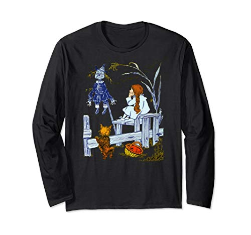 (Scarecrow T Shirt Dorothy and Toto Meet Scarecrow Tee)