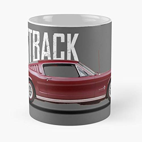 (Ford Mustang Fastback 1965 Ceramic Coffee Mugs 11 Oz - Funny Best Gift)