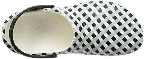 bianco Adulti 'bistroginghmclg Crocs Mule Unisex White PXqnZ5Fw7