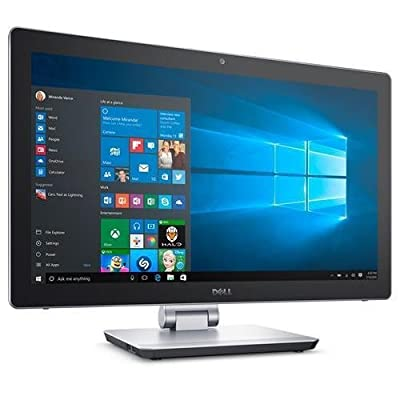 Dell Inspiron 7000 23.8-Inch All-in-One Touchscreen Desktop Computer (Intel Quad Core i5-6300HQ 2.3GHz, 12GB RAM, Dedicated NVIDIA GeForce 940M 4GB, 1TB HDD and 32GB SSD, Windows 10 Home)