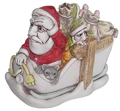 Christmas Harmony Cast.Harmony Kingdom No Charge Christmas Santa Figurine