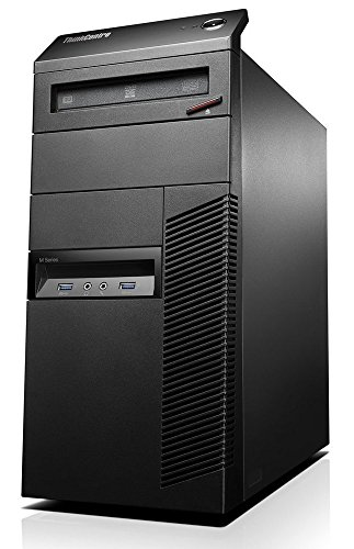Lenovo ThinkCentre M93P High Performance Business Tower Desktop Computer, Intel Quad Core i5-4570 up to 3.6GHz, 8GB RAM, 3TB HDD, Windows 10 Pro (Certified Refurbished) (i5-4570 | 8GB RAM | 3TB)