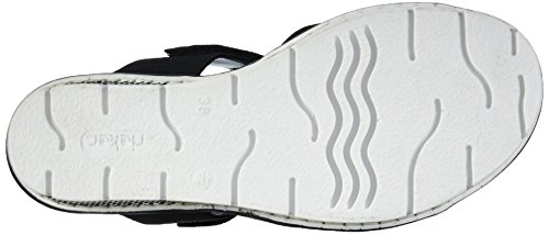 Rieker 68563, Women's Mules Black (Schwarz/Granit 00)