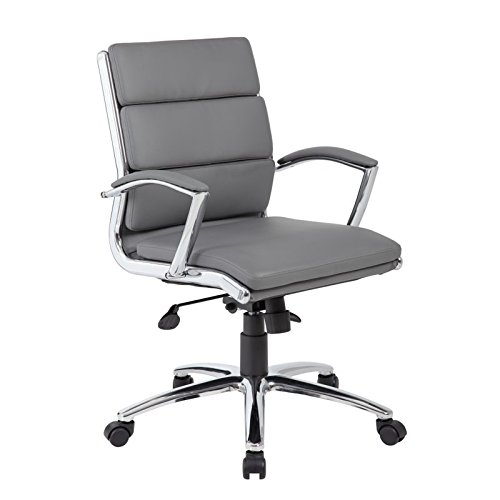 Boss Office Products (BOSXK) B9476-GY Office Chair Grey