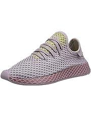 adidas Originals Deerupt Runner W Shoes 5.5 B(M) US Women / 4.5 D(M) US Soft Vision/Trace Maroon/Shock Yellow
