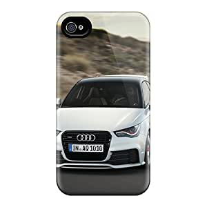 Qrj9299uKWv Anti-scratch Case Cover LAZO Diamond Protective Audi A1 Quattro Case For Iphone 4/4s