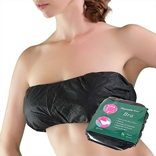 Appearus 30 Ct. Disposable Bra - Disposable Spa Bandeau Bras for Spray Tanning and Spa Treatments