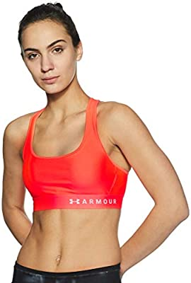 6cd531e6d6f84 Amazon.com  Under Armour Women s Armour Mid Crossback Sports Bra ...