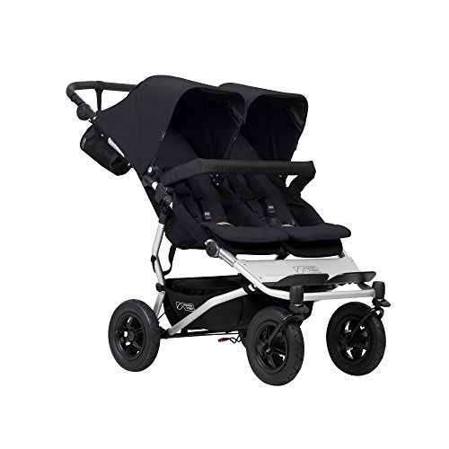 Mountain Buggy Duet V3 Buggy, Black ()
