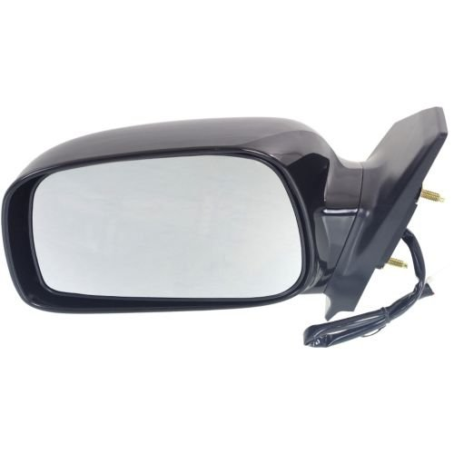 Make Auto Parts Manufacturing Left/Driver Side Non-Towing Mirror Non-Folding Power Operated Non-Heated Paint to Match For Toyota Corolla 2003-2008 - TO1320178 ()