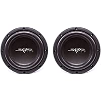 (2) Skar Audio VVX-8v3 D2 8 800W Max Power Dual 2 Subwoofer