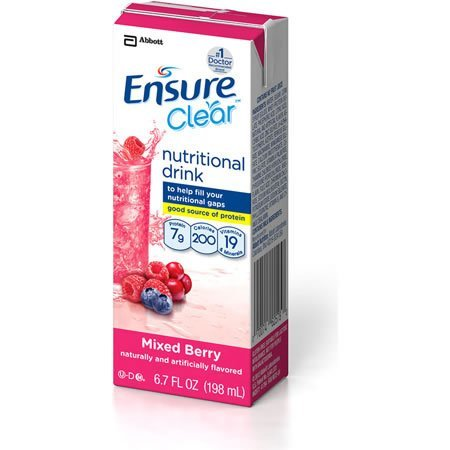 Ensure Enlive! Clear Mixed Berry Brikpaks ***4 CASE SPECIAL***