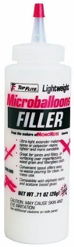 Top Flite Microballoons Filler, 8-Ounce