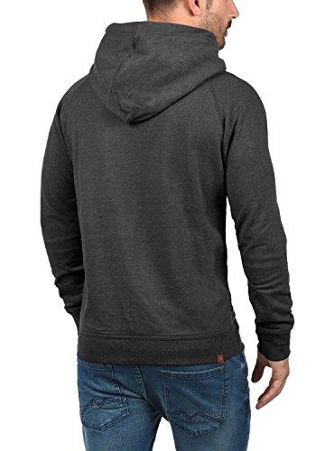 Uomo Colletto Charcoal 70818 Cappuccio Blend Hoodie Sales Con Incrociato Tuta Felpa Da wwO80
