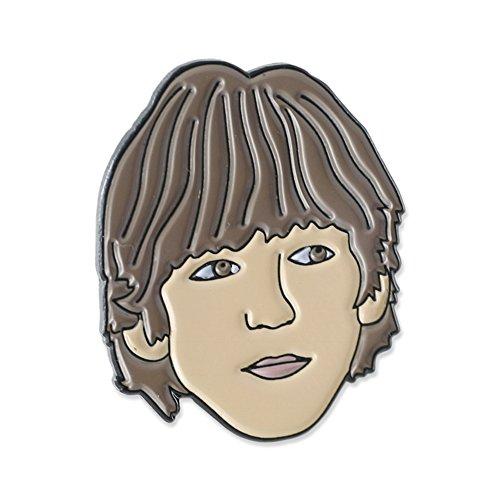 John Lennon, Paul McCartney, George Harrison & Ringo Starr Celebrity Enamel Lapel Pin Set (John Lennon Jewelry)