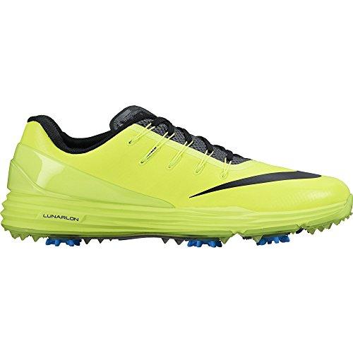 Nike Lunar Control 4 Golf Shoes 2017 Volt/Photo Blue/Blac...