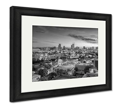 - Ashley Framed Prints New Orleans Louisiana USA, Wall Art Home Decoration, Black/White, 30x35 (Frame Size), Black Frame, AG32911937