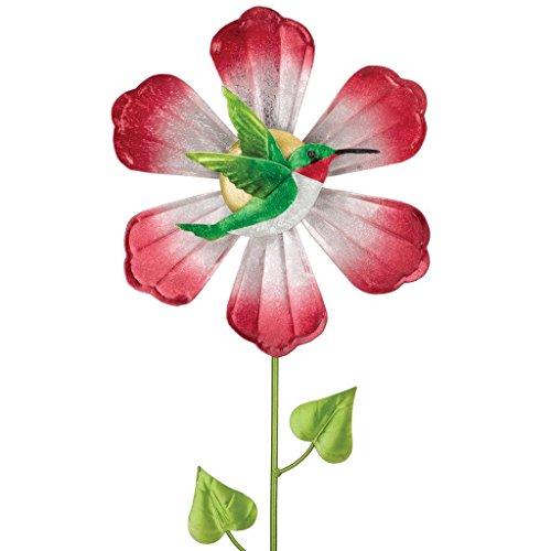 Regal Art & Gift 5485 Hummingbird Flower Spinner