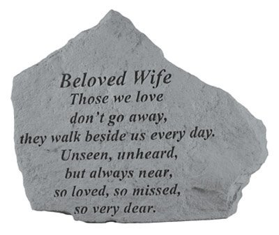 Kay Berry- Inc. 15420 Beloved Wife Those We Love – Memorial – 6.875 Inches x 5.5 Inches Review