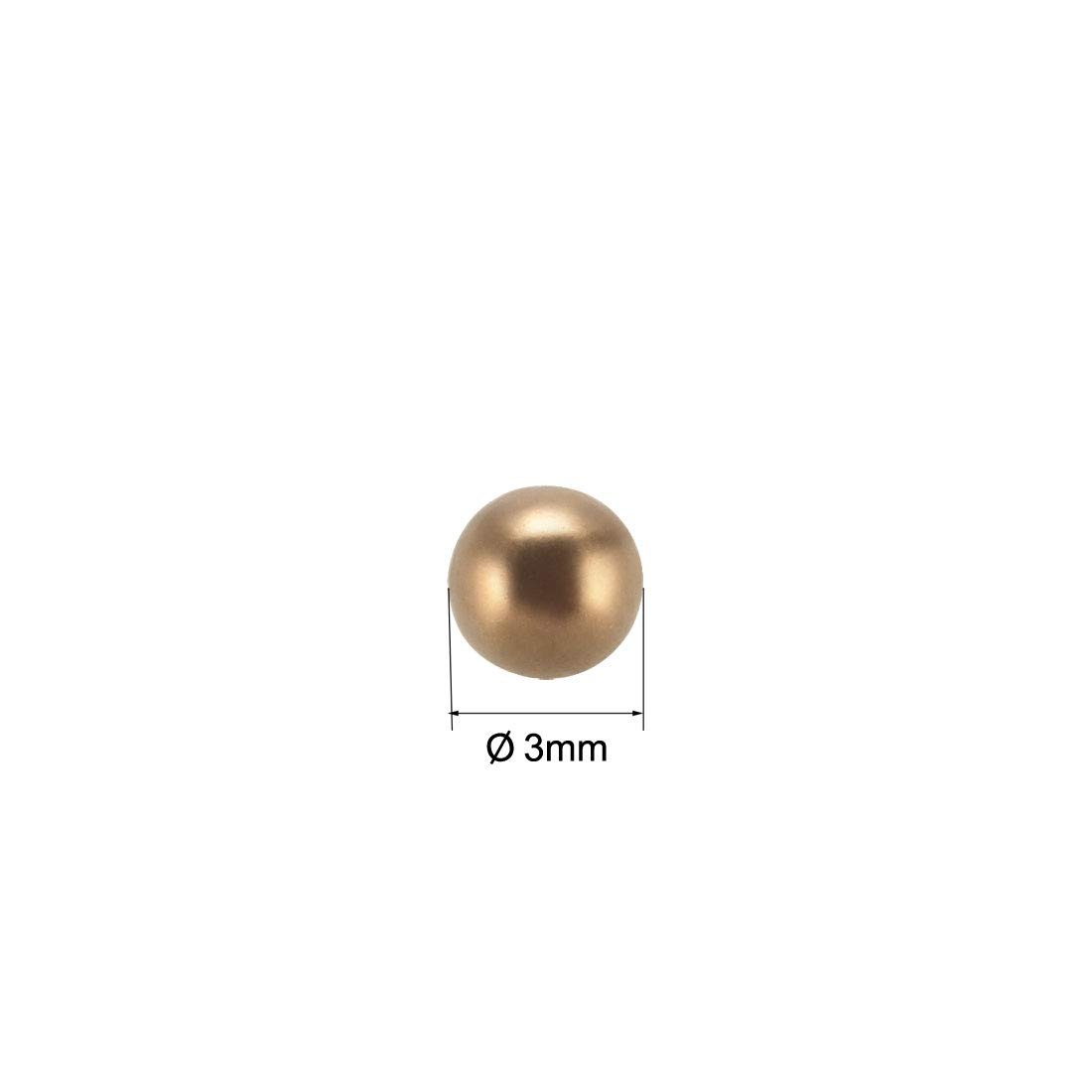 uxcell 3mm Precision Solid Brass Bearing Balls 100pcs