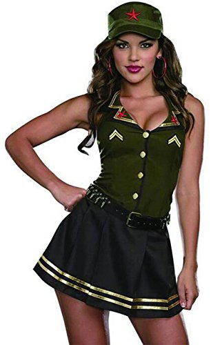 Sexy Soldier Costume (Large) (Sexy Soldier Costumes)