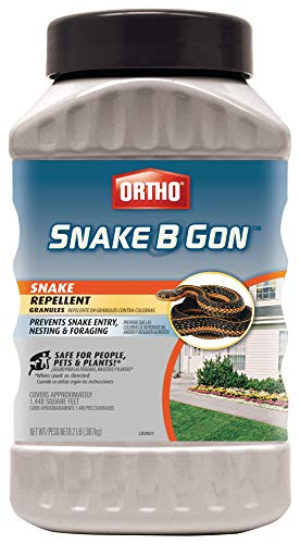 Ortho Snake B Gon Snake Repellent Granules, 2-Pound (Not Sold in AK) (Best Way To Kill Rats Outside)