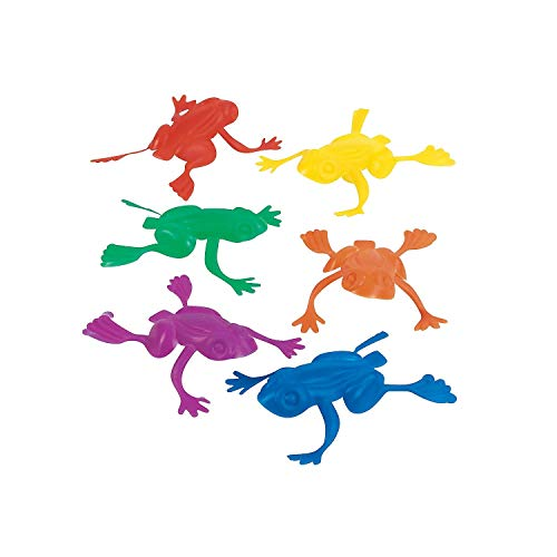 - Rhode Island Novelty - Jumping Frogs 2 in Plastic New Party Favors 1 Gross (144)  (2 pack)