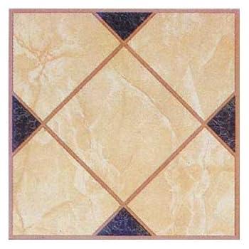 Amazon.com: Vinyl Self Stick Floor Tile 27777 Home Dynamix - 1 Box ...