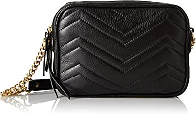 Sam Edelman Women's Lora Cross Body Bag, Black, One Size