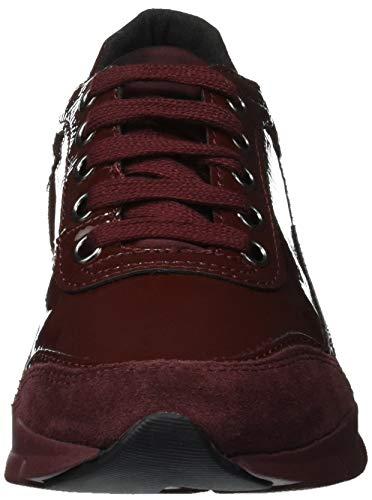Basses Femme D Sneakers B dk Rouge Geox Sukie C7357 Burgundy qBAHwTg