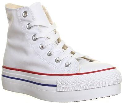 separation shoes 3777b f0562 Converse 136722 All Star - Sneaker alta in tela con doppia ...