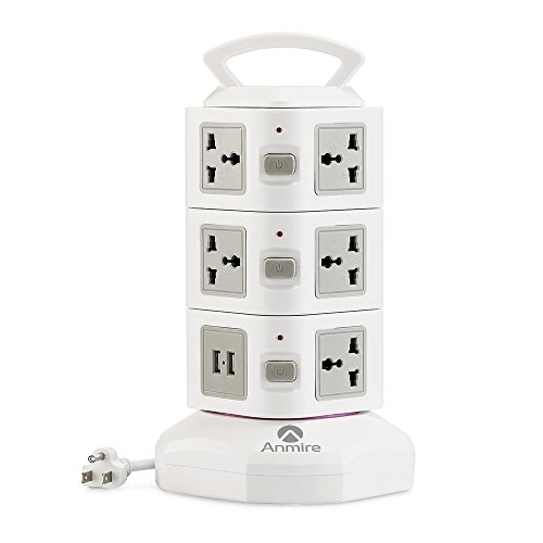 Anmire Vertical Multi sockets Worldwide Universal product image
