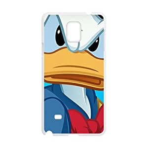 Happy Donald Duck Phone Case for samsung galaxy note4 Case