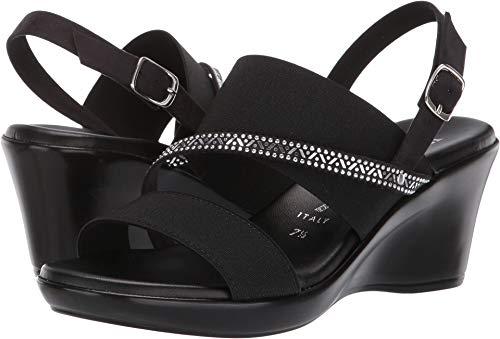 (ITALIAN Shoemakers Women's Jaime Black 7.5 M US)