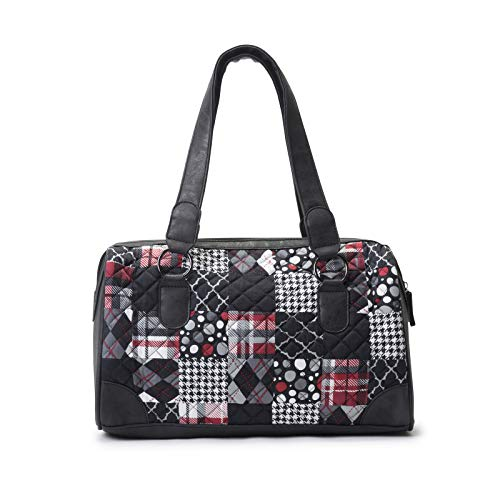 Donna Sharp Purse - Donna Sharp Tess Handbag in Blackjack
