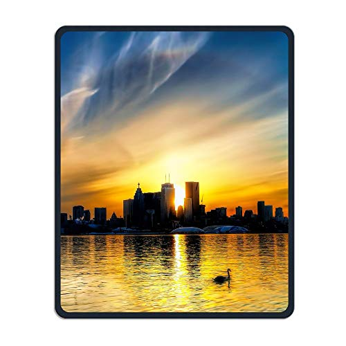 CN Tower Sunshine Portable Gaming Mouse Pad Comfortable