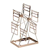 Jewelry rack Hanging Jewelry Organizers Jewelry Frame Jewelry Frame Can Be Rotated Light Luxury Desktop Jewelry Display Rack Home Storage Pendant (Color : Gold, Size : 30.51812.5cm)