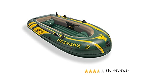 Intex Seahawk 3 - Barco hinchable, 295 x 137 x 43 cm: Amazon.es ...