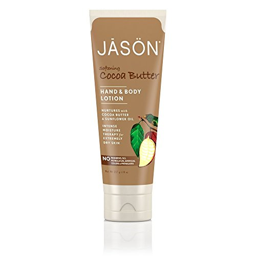 Jason Cocoa Butter Hand & Body Lotion, 8-Ounce Tubes (Pack of 3) -