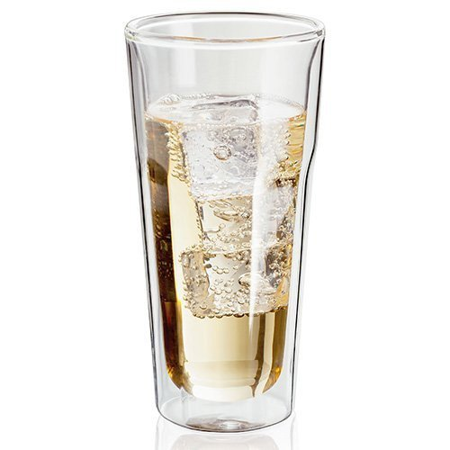 Judge set of 2 Insultaed Double Walled Heat and Cold Retention Highball Gin & Tonic Glasses Tumblers 350ml JDG40